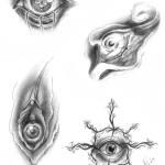 Disegni di occhi per tattoo