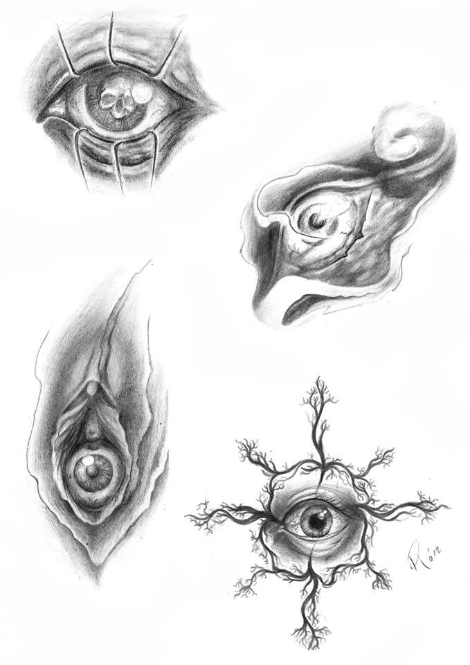 Project Eye Disegni Di Occhi Originali Tatuaggi Biomeccanici