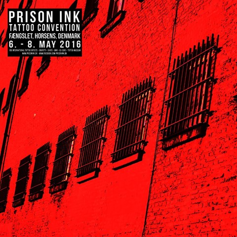 Prison ink 2016 - tattoo convention in Danimarca ambientata in una prigione