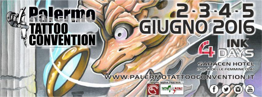 Palermo tattoo convention 2016