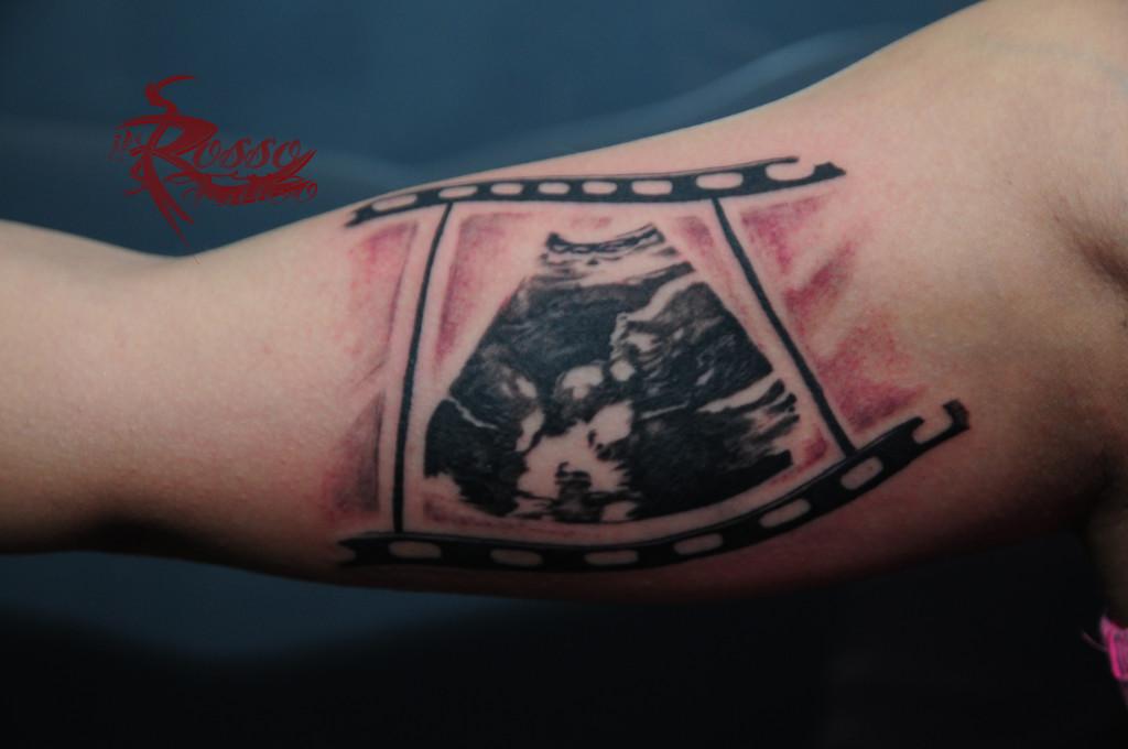 Prima parte tatuaggio ecografia