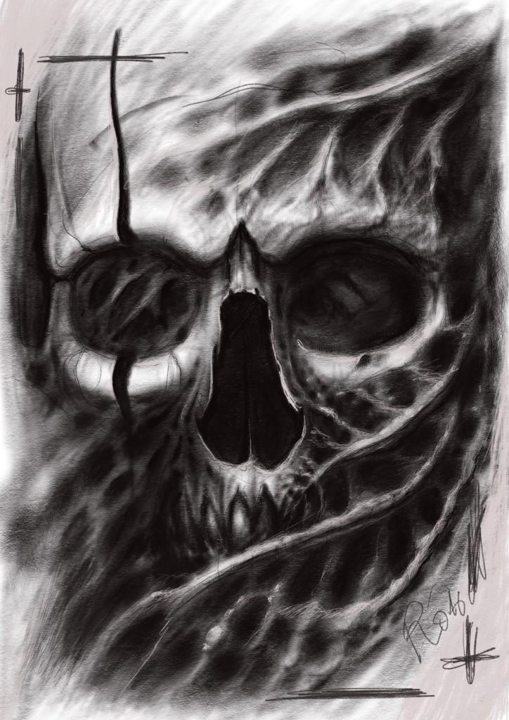 bioorganic project - skull