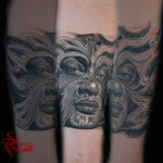 maschera maori