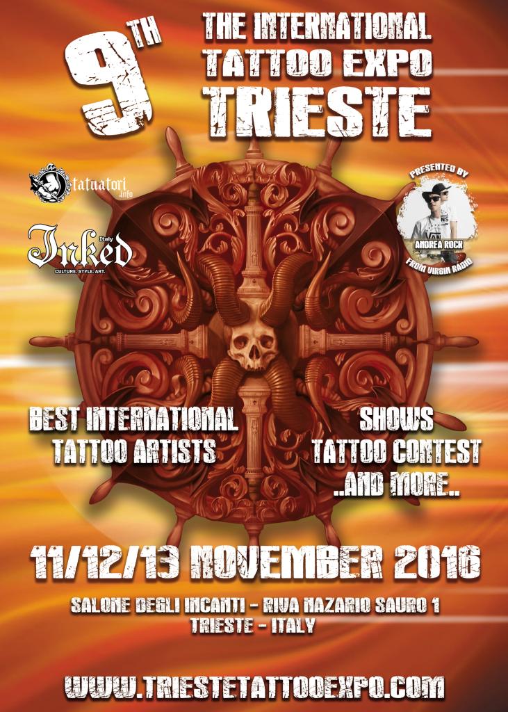 Trieste Tattoo expo 2016