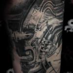 Giger tattoo