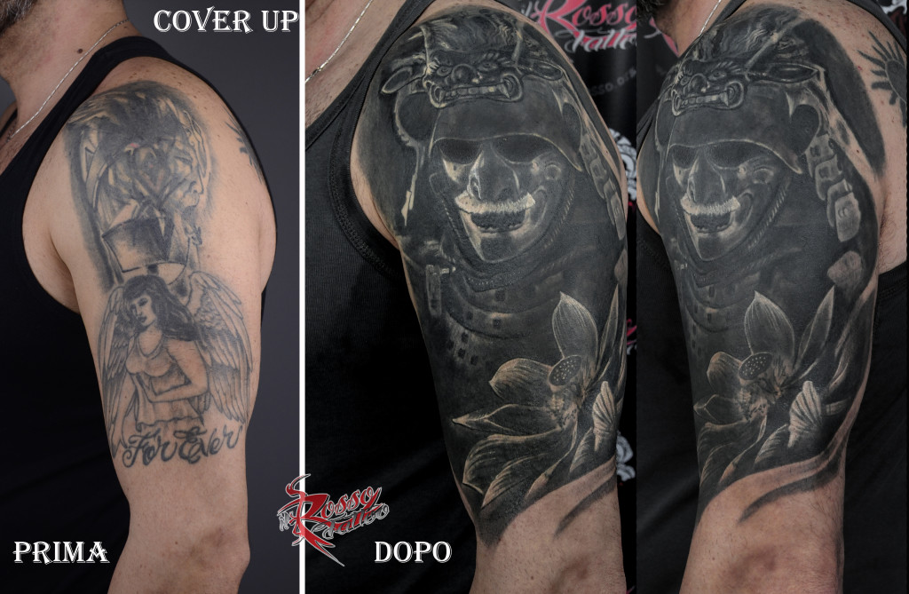 Samurai cover up